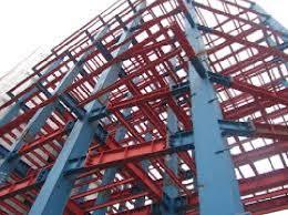 دانلود گزارش کارآموزی مراحل اجرای ساختمان اسکلت فلزی